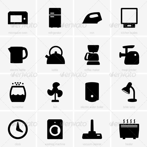 GraphicRiver Home Appliances 5374000