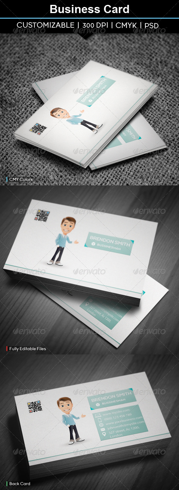 GraphicRiver Business Card 6 5295315