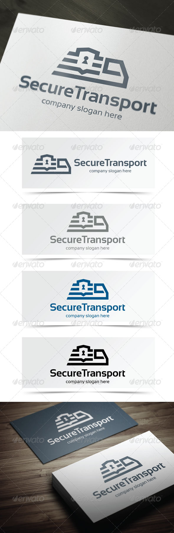 GraphicRiver Secure Transport 5375679