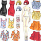 Dress Up Paper Doll - GraphicRiver Item for Sale