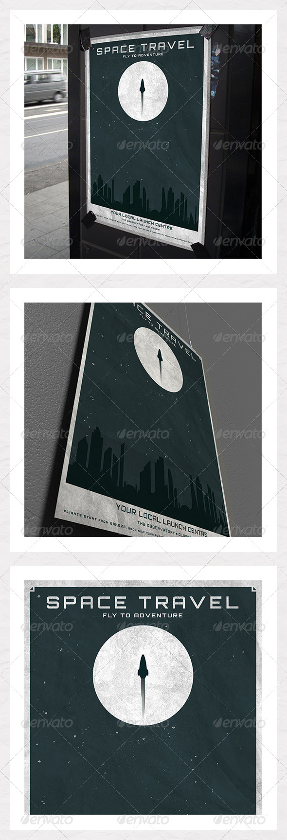 GraphicRiver Space Travel Poster 5337027