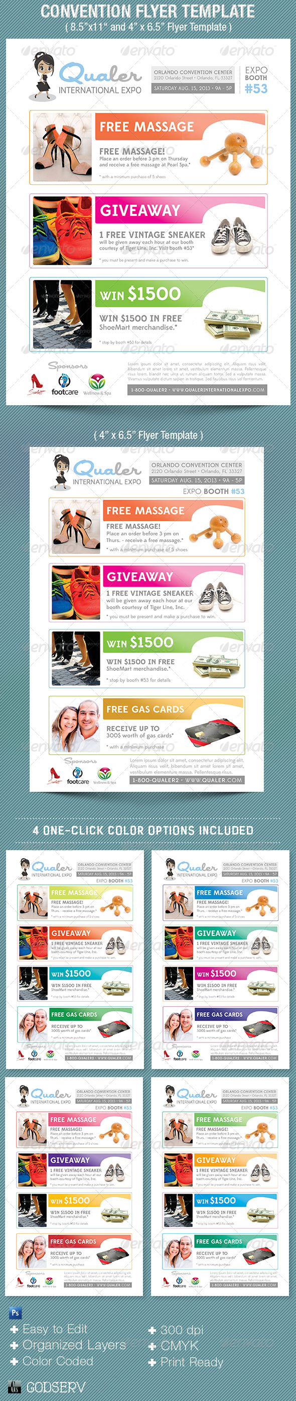 Convention Flyer Template - Commerce Flyers