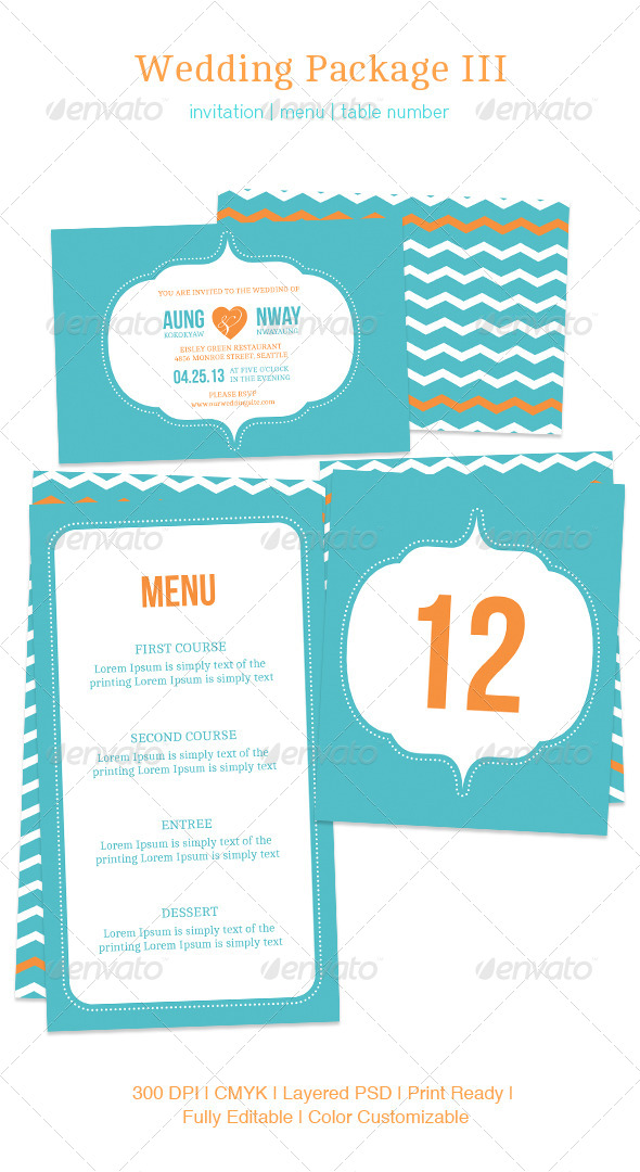 GraphicRiver Wedding Package III 5377222