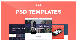 PSD Templates from Olia Gozha