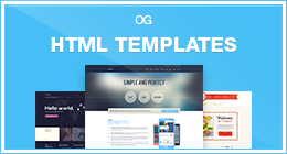 Site Templates (HTML) from Olia Gozha