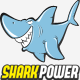 Shark Power Logo - GraphicRiver Item for Sale