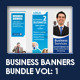 Business Banners Bundle Vol 1 - GraphicRiver Item for Sale