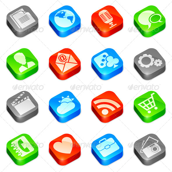 GraphicRiver Media Icons 5382332