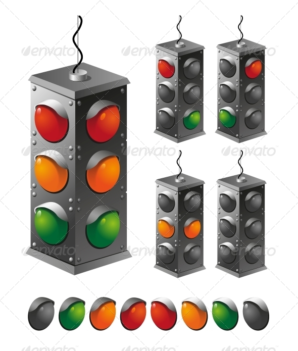 GraphicRiver Traffic Light 5382641