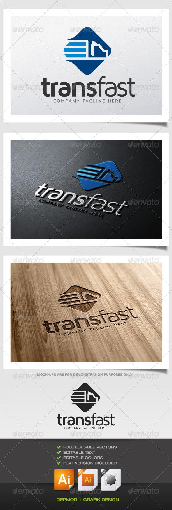 GraphicRiver Trans Fast Logo 5383127