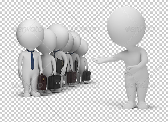 3D Small People - Your Clients - Characters 3D Renders