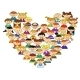Love Heart with Childrens - GraphicRiver Item for Sale