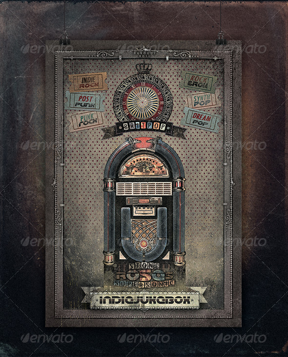 GraphicRiver Indie Jukebox Flyer 5235345