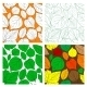 Set of Seamless Leaves Background - GraphicRiver Item for Sale