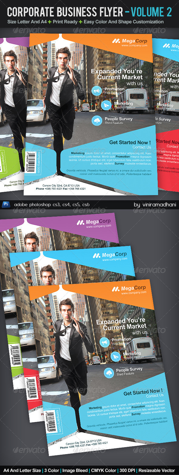 GraphicRiver Corporate Business Flyer Volume 2 5386486