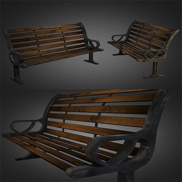 3DOcean Bench 01 5386773