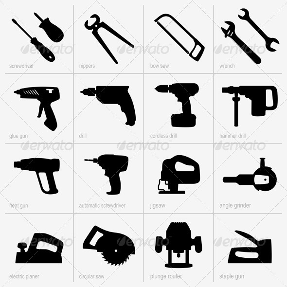 GraphicRiver Industrial Tools 5386816
