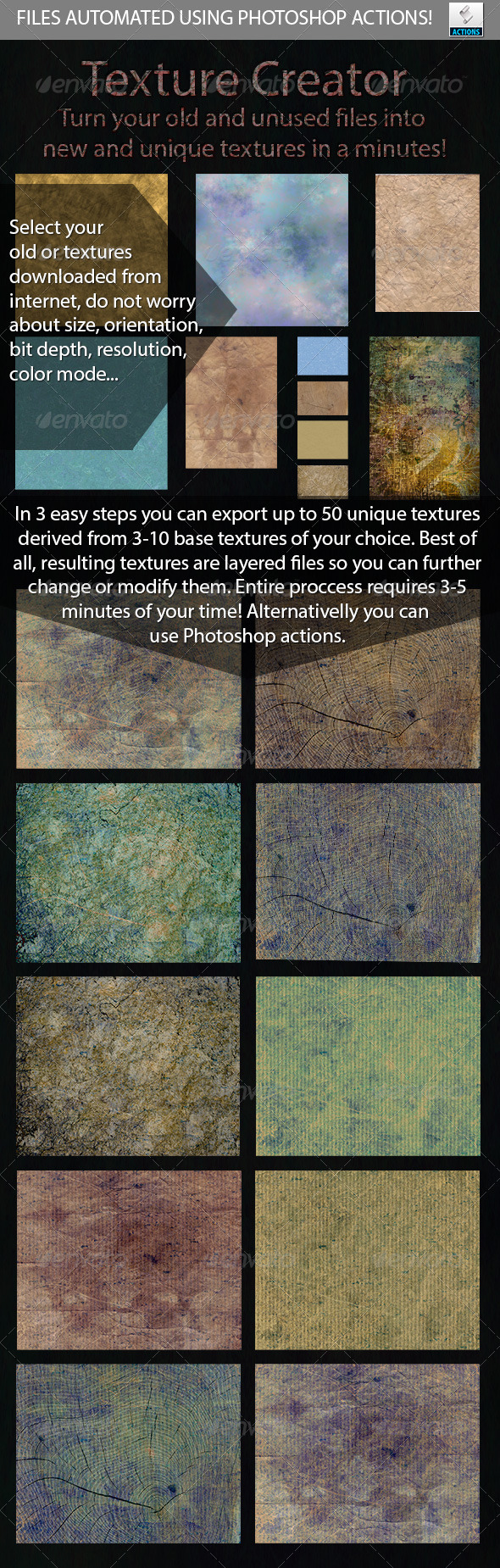 GraphicRiver Automated Texture Creator 5362971
