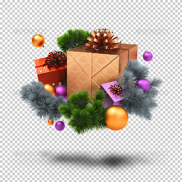 GraphicRiver Christmas decoration 5388085