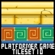 Platformer Game Tile Set 10 - GraphicRiver Item for Sale