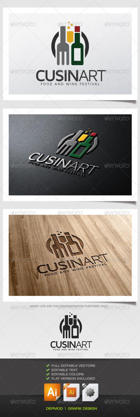 GraphicRiver Cuisinart Logo 5389379