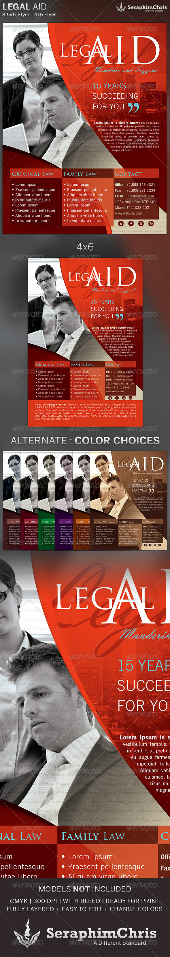 GraphicRiver Legal Aid Flyer Template 2 5389892