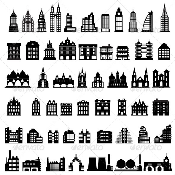 GraphicRiver Vector Houses 5390165