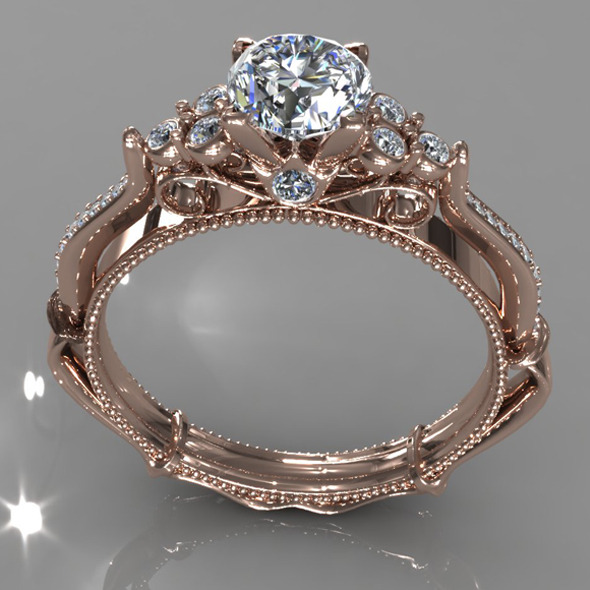 3DOcean Diamond Ring Creative 009 5392315