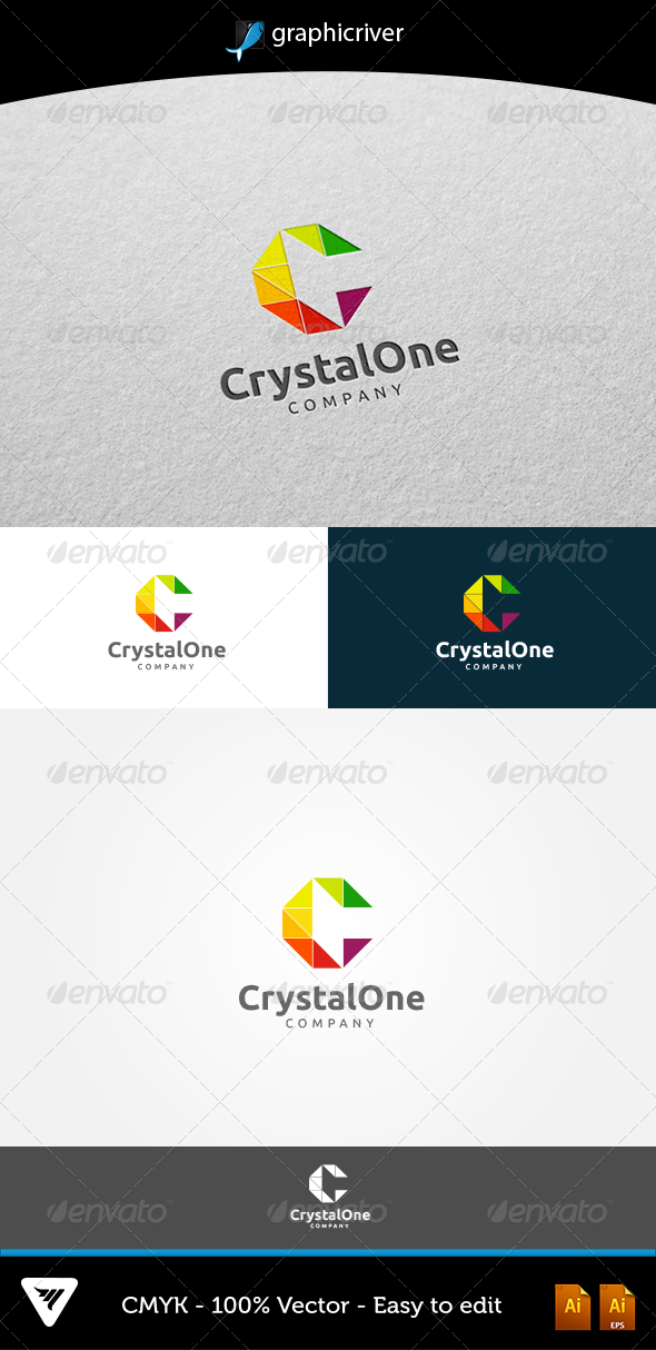 GraphicRiver CystalOne 5392320
