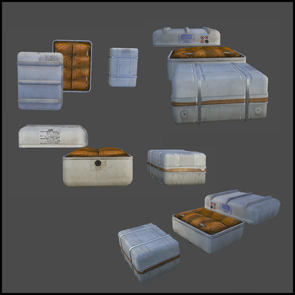 3DOcean Liferaft 5393796