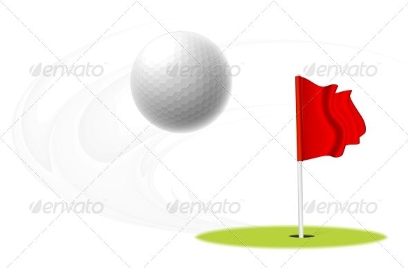 GraphicRiver Golf Ball 5394305