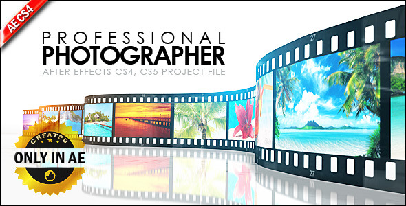 After Effects Project - VideoHive Professional Photographer 547897