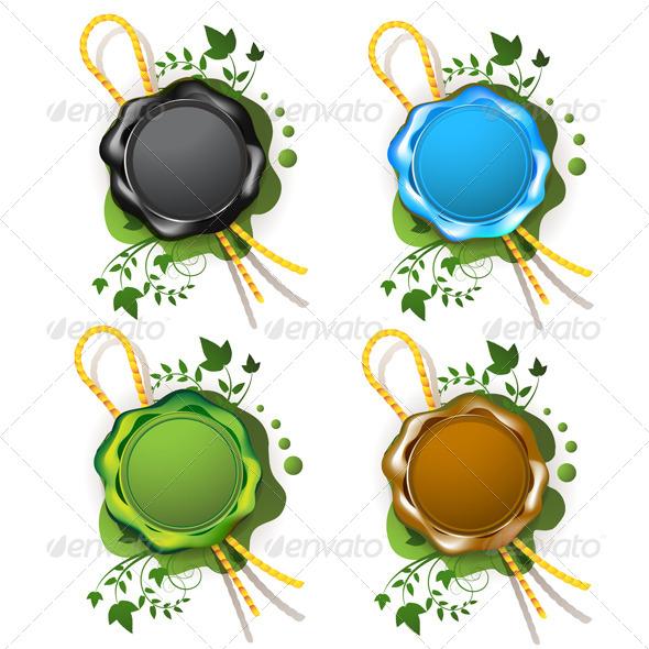 GraphicRiver Multicolor Sealing Wax 5395749