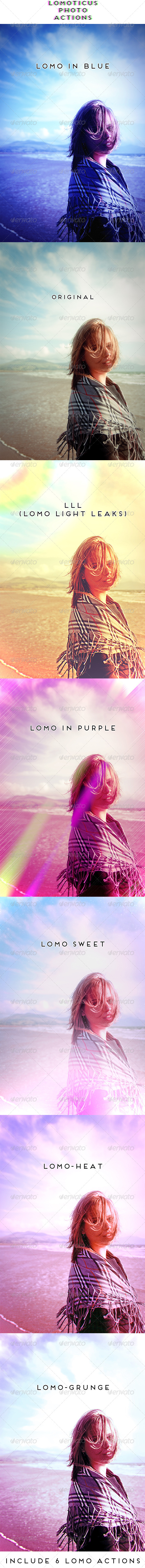 GraphicRiver Lomoticus Photo Actions 5397205