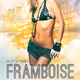 Framboise Electro House Party Flyer - GraphicRiver Item for Sale
