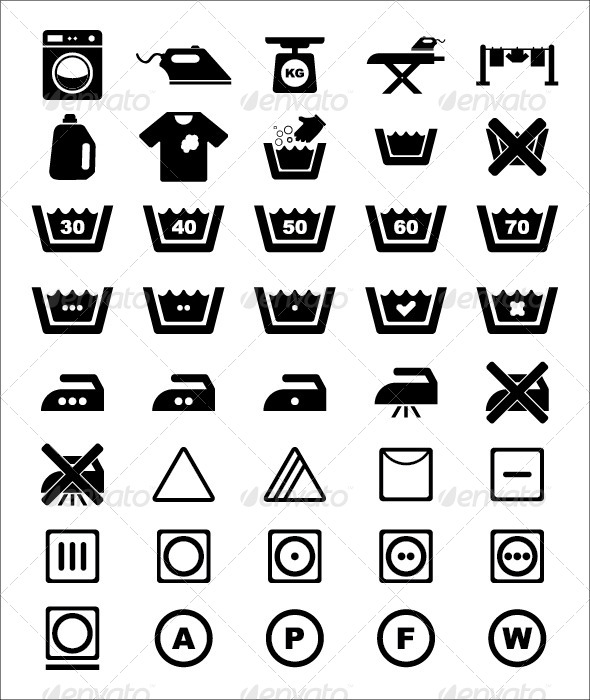 GraphicRiver Laundry Icon 5391227