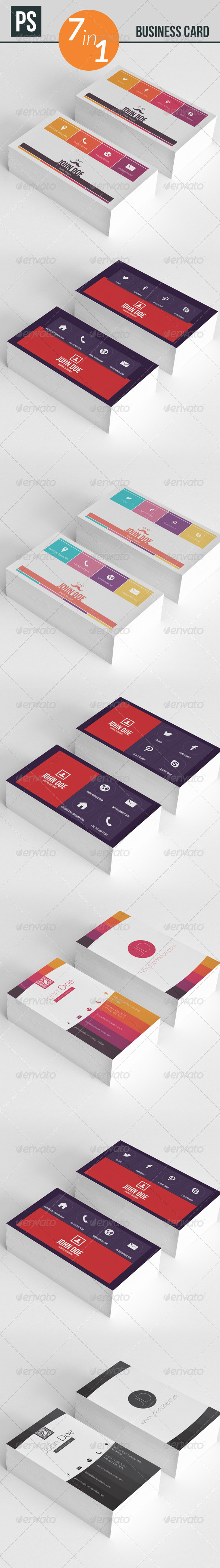 GraphicRiver Business Card 5290108