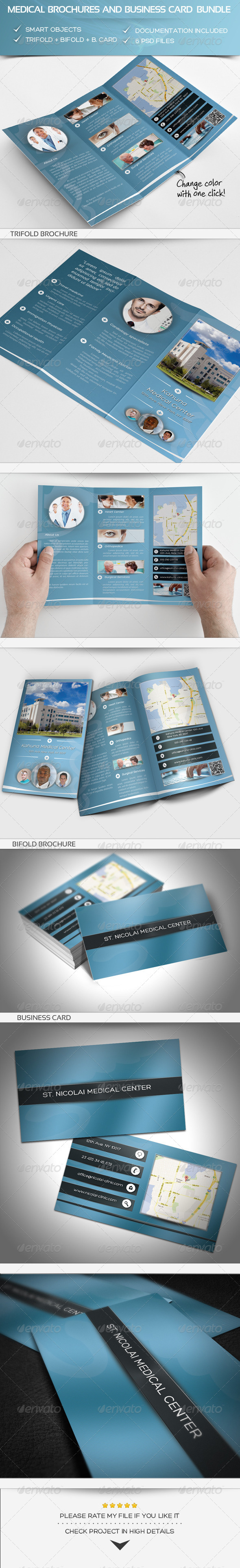 GraphicRiver Medical Bundle 5398087