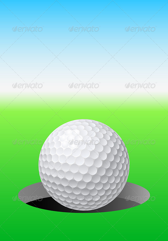 GraphicRiver Golf Ball 5398236