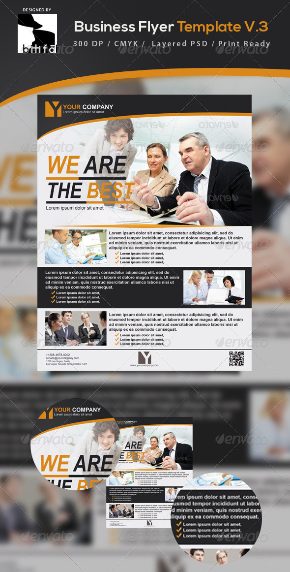 GraphicRiver Business Flyer Template V.3 5398817