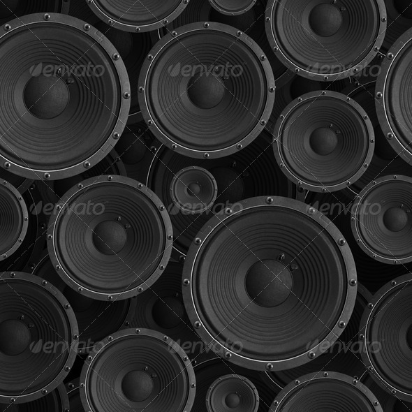 PhotoDune Speakers seamless background 554856