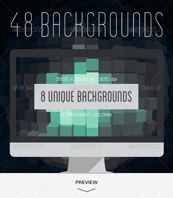 GraphicRiver 48 Sphere Backgrounds 5399294