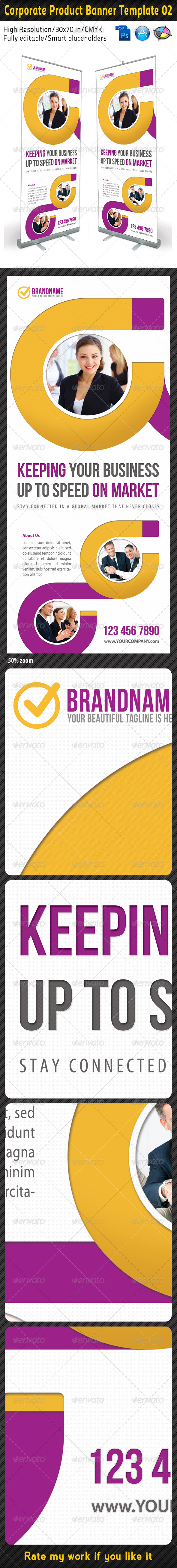GraphicRiver Corporate Product Banner Template 02 5402358