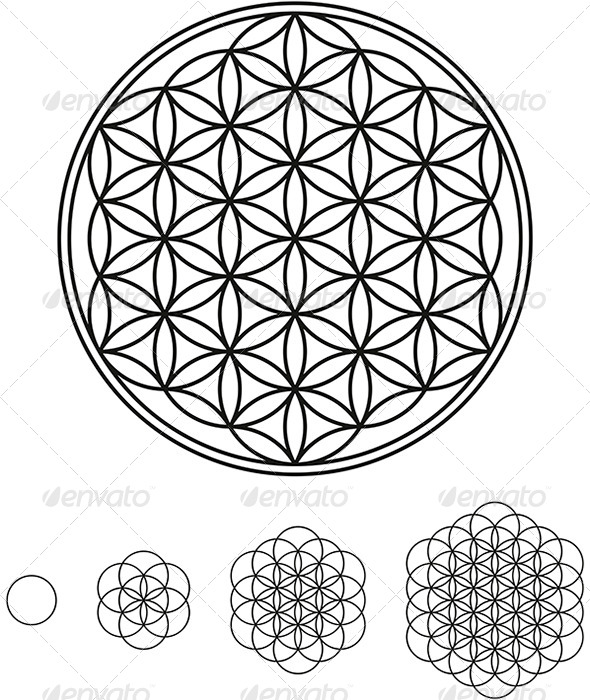GraphicRiver Flower Of Life Development 5092238
