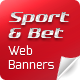 Sports and Bet Web Banners - GraphicRiver Item for Sale