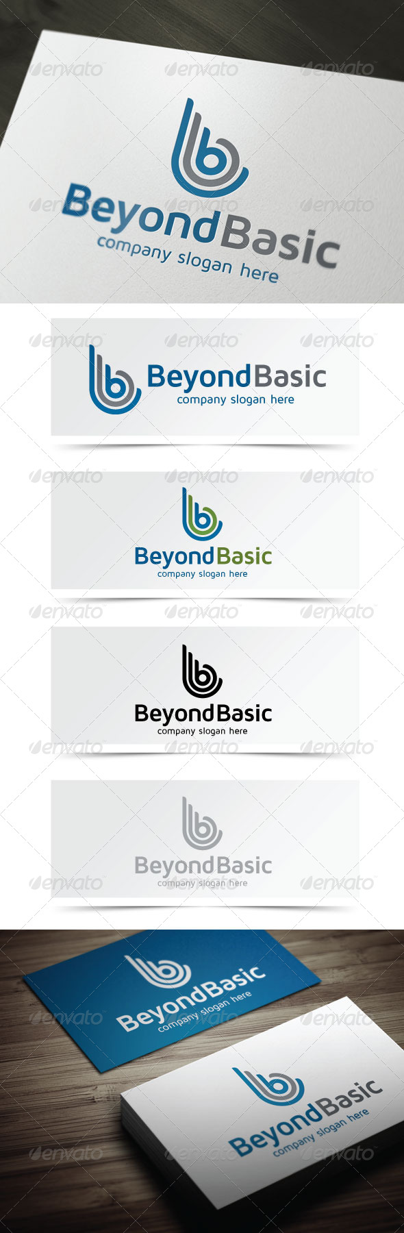 GraphicRiver Beyond Basic 5404397