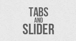Tabs And Slider
