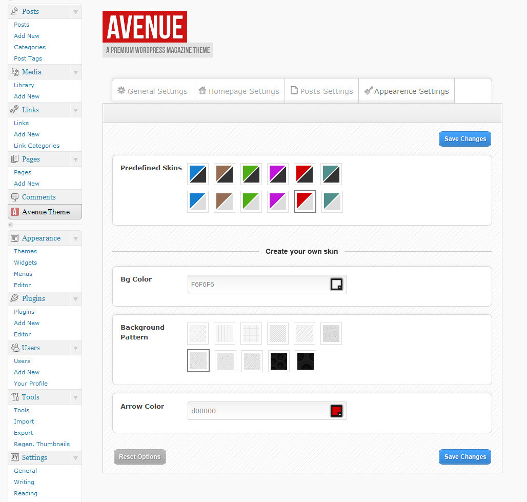 Avenue - A WordPress Magazine Theme
