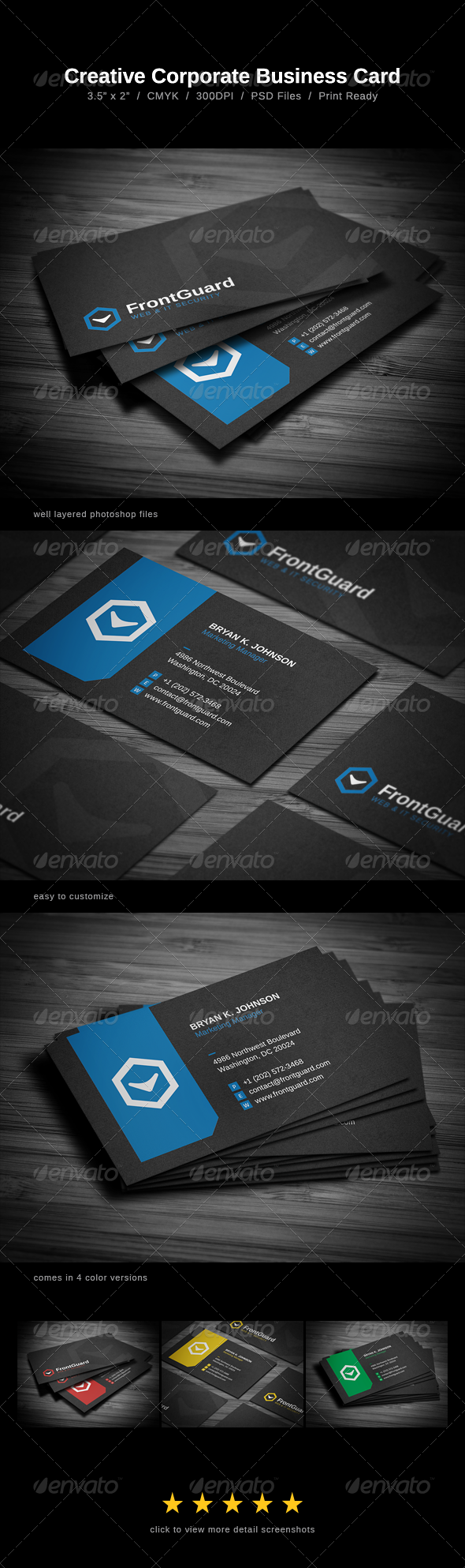 GraphicRiver Creative Business Card 5405358