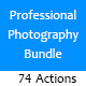 Professional Photography Bundle : 74 Actions - GraphicRiver Item for Sale